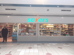 Savers Shop Front