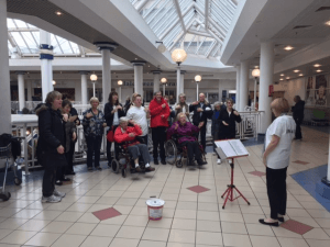 Halas Homes Sing and Sign group